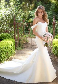 Courtesy of Martina Liana Wedding Dresses; Wedding dress idea.