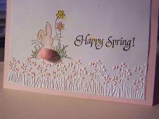Darice embossing folder - Border  - SPRING FLOWERS - Easter, Spring, Occasion