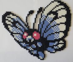 Butterfree in Perler Bead form!