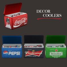 Leo Sims - Coolers for The Sims 4