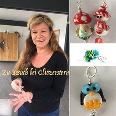 Html, Christmas Bulbs, Holiday Decor, Home Decor, Glitter Stars, Snowman, Glass Beads, Christmas Time, Eyes