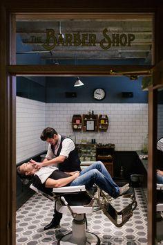 /// Vintage Barber Shop