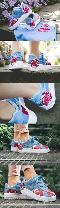 outlet store 3d8f3 cd690 Nike Air Force 1 Upstep LX  Floral  December Sky https   store