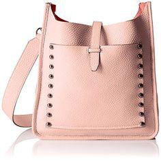 Women's Shoulder Bags - Rebecca Minkoff Unlined Feed Shoulder Bag Pale Blush One Size * For more information, visit image link.