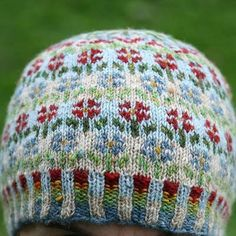 Peerie Flooers Hat - Kate Davies Knitting Pattern - Tangled Yarn