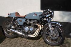 Honda CB 550 Four K Cafe Racer by dvanzuijlekom #motorcycles #motos #caferacer | caferacerpasion.com