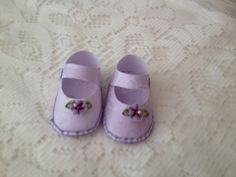 Mini Chaussons scrap made in NATHECREATIVE