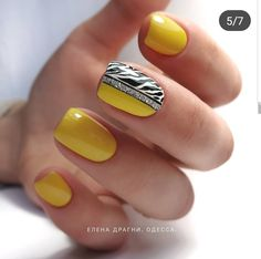 32 New Ideas For Summer Manicure Colors Simple French Manicure Acrylic Nails, Gel Manicure, Nail Polish, Accent Nail Designs, Best Nail Art Designs, Cute Nails, Pretty Nails, Summer Nails 2018, Manicure Colors