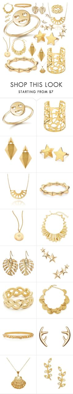 """Golden Bliss"" by livmayoss ❤ liked on Polyvore featuring beauty, Bing Bang, Stephanie Kantis, Pernille Corydon, Gucci, Astley Clarke, Oscar de la Renta, The Sak, Kenneth Jay Lane and Soave Oro"
