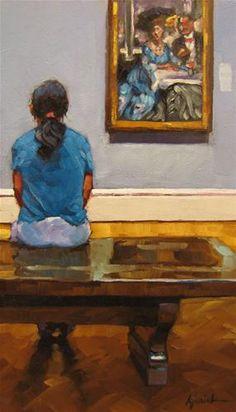 """Child Rearing"" - Original Fine Art for Sale - © Karin Jurick"