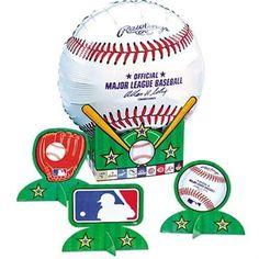 Balloon Centerpiece Major League Baseball