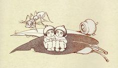 May Gibbs Gumnut Babies, Snugglepot and Cuddlepie Baby Tattoos, Time Tattoos, Baby Artwork, Cool Tats, Australian Art, Flower Fairies, Children's Book Illustration, Meaningful Tattoos, Little People