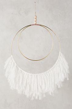 Fringed Wall Art #anthropologie