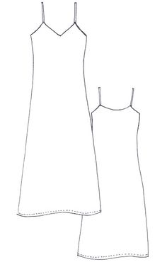 NEW :: Our Sadie Slip Dress Pattern Meet our latest pattern – the Sadie Slip Dress. Since we saw this trend popping up (and because we lived and loved it through the we've had this design on our patternmaking radar. Though it can most definitely be. Sewing Clothes, Diy Clothes, Sewing Coat, Dress Sewing Patterns, Pattern Sewing, Skirt Patterns, Coat Patterns, Pattern Drafting, Blouse Patterns