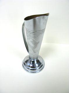 Silver Coloured Deer Vase - Silver Fawn Vase - Small Vase - Silver Posy Vase - Silver Bud Vase - Tiny Vase - Posy Holder - Engraved Vase by MissieMooVintageRoom on Etsy