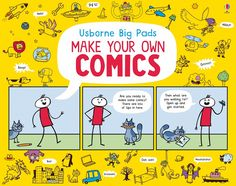 "Find out more about ""Make your own comics"", write a review or buy online."