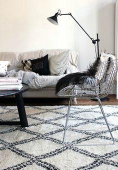 ★ Living room black & white.