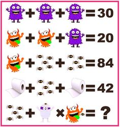 Can you solve the cartoon picture puzzle? Mind Puzzles, Maths Puzzles, Cartoon Pics, Cartoon Picture, Brain Teaser Puzzles, Picture Puzzles, Mind Games, Brain Teasers, Riddles