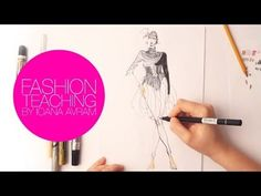 Today's Drawing Class: Drawing Fashion - How to draw fashion sketches