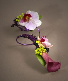 images of prom corsages   Prom Orchid arm Corsage