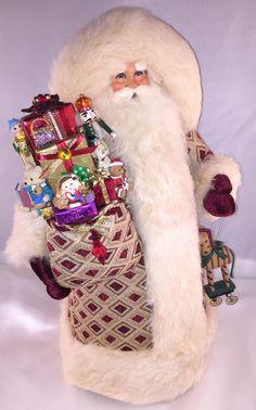 Christmas Joy Santa - pinned by pin4etsy.com