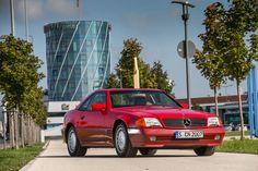 Mercedes 500 SL (R129), Frontansicht
