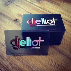 Transparent Metallic Ink Business Cards - Quieres una tarjeta como esta? Con nosotros puedes. -Tarjenova-