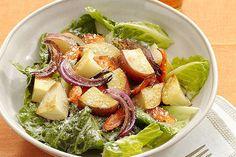 Ensalada ranchera con vegetales asados Receta