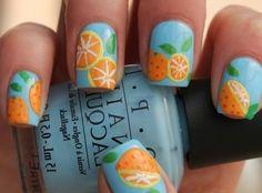 Fruity nails - so Prada