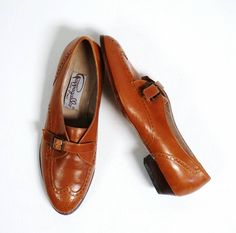 Vintage Italian Leather Shoes Pappagallo  by MODernThrowBack