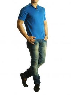 Buy Online Royal blue sweater by Todi - 2014