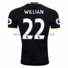 Chelsea Fotballdrakter 2016-17 Willian 22 Bortedrakt