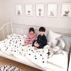 Baby Fashion Boy Sibling 51 New Ideas Cute Asian Babies, Korean Babies, Asian Kids, Cute Babies, Twin Babies, Little Babies, Twins, Dad Baby, Baby Kids