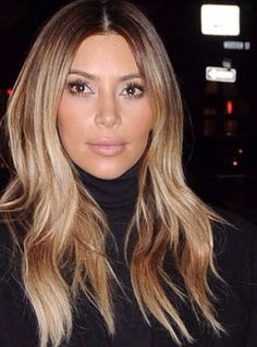 No I don't love Kim K... But I did love her hair as a blonde.