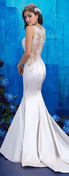 Sexy Wedding Dress by Allure Bridals 2017 Collection | @allurebridals