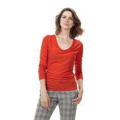 I have just purchased Callington Cowl Jumper from Baukjen Womenswear UK - https://www.baukjen.com/uk/baukjen-sale/tops-sale/callington-cowl-jumper-flame-orange.htm