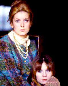 """mabellonghetti: """" Françoise Dorléac and Catherine Deneuve, c.1964. """""""
