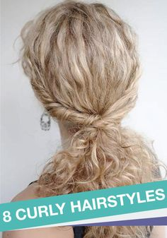 Take advantage of those beautiful natural curls and try one of these fabulous hairstyles!