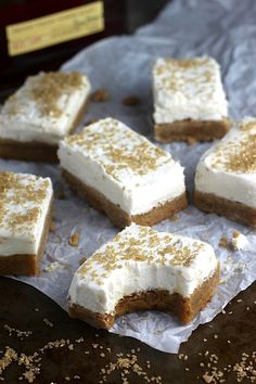Brown Butter Sugar Cookie Bars with Cinnamon Bourbon Buttercream