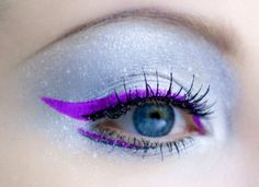 Lime Crime Eyeliner in Orchidaceous:  eye-popping shades, each comes equipped with an easy-to-control precision brush.