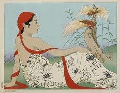 Paul Jacoulet / Поль Жакуле (1896 - 1960) Франция/Япония.