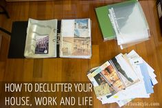 How to declutter your house, work and life | 40plusstyle.com