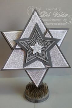 origami-triangle-star-card-bright-&-beautiful-stamp-set-star-framelit-all-is-calm-DSP-christmas-holiday-fun-fold-deb-valder-stampladee-stampin-up-1