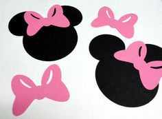 Minnie Mouse Cut Outs