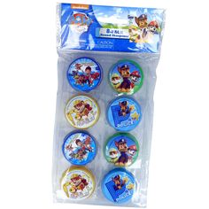 Paw Patrol 8 Pack Pencil Sharpener Back To School Official Nickelodeon