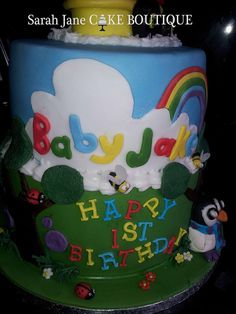 Baby Jake cake by Sarah Jane Cake Boutique via Flickr Sarah Jane