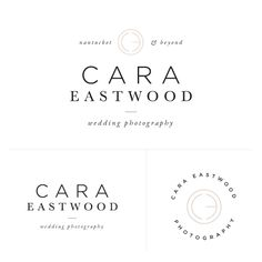 Premade Photographer logo - Now Available in the Salted Ink Brand Bar   Comes with 3 variations, modern hand drawn pattern file, business card design, notecard design and sticker/stamp design   Perfect Photographer Logo   ONLY SOLD ONCE
