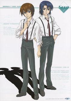 Gundam Seed poster official Japan Athrun Zala Kira Yamato