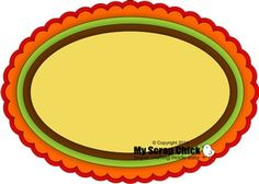 Scallop Oval Tag Layers: click to enlarge