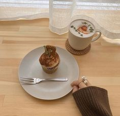 White Coffee, Aesthetic Food, Coffee Time, Junk Food, Panna Cotta, Ethnic Recipes, Sweet, Feels, Beige